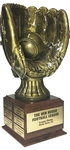 Glove & Ball Perpetual Fantasy Baseball Trophy