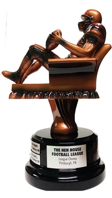 Perpetual Superfan Fantasy Football Trophy | Bruno's