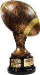 Perpetual Rustic Fantasy Football Trophy | Bruno's