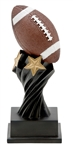 Twisted Pedestal Football Trophy