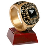 Championship Ring Trophy