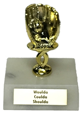 Ittie Bittie Fantasy Baseball Trophy from Bruno's
