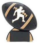 Football Stencil Small Trophy