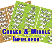 Corner and Middle Infielders