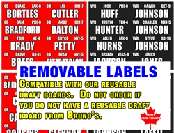 Removable labels