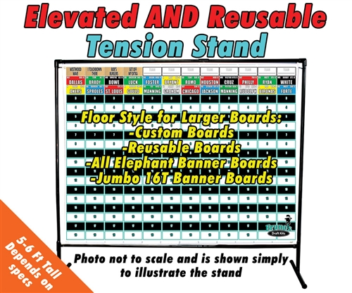 Reusable Tension Stand