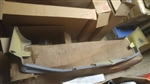 1982 - 1987 Chevy El Camino SS Front Bumper Lower Spoiler Ground Effect, GM NOS