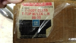 1986 - 1992 T-Top, Pin Style, Glass, LH, Original GM NOS