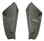 1974 - 1981 Camaro Trunk Drop Off Extension Panels Pair NOS GM