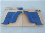 1980 - 1981 Camaro Rear Arm Rest Side Panels, Dark Blue NOS GM