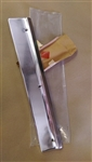 1967 Rally Sport Rocker Chrome Molding RH Fender Piece NOS