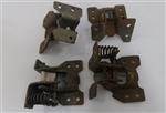1969 Door Hinge Set, Complete all Four, Original GM NOS