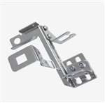 Accelerator Throttle & Transmission Cable Linkage Bracket, Chrome
