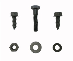 1967 - 1969 Accelerator Firewall Support Screws with Side Tensioning Bolt Set