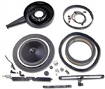 1969 Camaro 302 Z28 Cowl Induction System Kit with Correct FLAT BOTTOM 6485235 Base