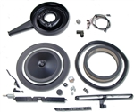 1969 Camaro Cowl Induction Air Cleaner System Kit for Big Block 396