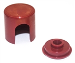1967 - 1975 Alternator Cap and Retainer Set, Red