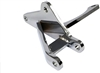 1967 - 1968 Camaro Big Block Lower Alternator Bracket, Chrome