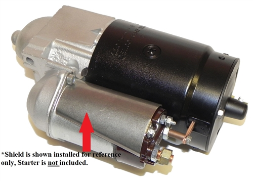 ALT 61 3?1479191086 1967 1981 camaro starter solenoid heat shield, stainless steel Painless Wiring at gsmx.co