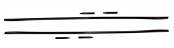 1982 - 1992 Camaro Pre-Cut Body Side Trim Molding Set with Pointed Ends
