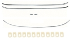 1970 - 1981 Camaro Exterior Reveal Molding Kit