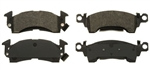 1969 - 1981 Camaro Front Disc Brake Pads Set, OE Semi-Metallic