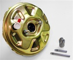 1967 - 1969 Power Brake Booster with Delco Moraine Stamp Upside Down, 11 Inch Gold Original Style