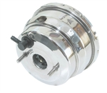 1967 - 1969 Power Brake Booster, 8 Inch, Dual Diaphragm, Polished Stainless Steel