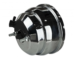 1967 - 1969 Camaro Power Brake Booster, 8 Inch, Dual Diaphragm, Chrome