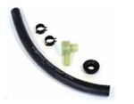1967 - 1972 Camaro Power Brake Booster Vacuum Hose Kit with Clamps and Check Valve, Big Block