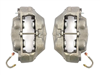 1967 - 1968 Camaro Front Disc Brake Calipers, OE Style 4 Piston, Pair
