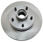 1979 - 1981 Camaro Front Disc Brake Rotor and Hub for Single Piston Caliper