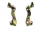 1967 - 1968 Camaro 4 Piston Caliper Mounting Brackets for Front Disc Brakes, Pair