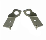 1969 Brake Hose Brackets, FRONT DRUM BRAKE HOSE TO HARD LINE SUBFRAME MOUNTING, Pair