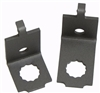 1967 - 1969 Camaro Brake Hose Brackets, Brake Hose to Hard Line Subframe Mounting, Pair