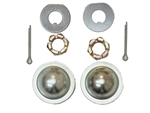 1979- 1992 Camaro Wheel Bearing Dust Cap, Spindle Nuts, Cotter Pin and Keyed Washers Set