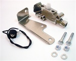 1967-1970 Proportioning Valve And Bracket Set in Chrome