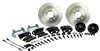 1967 - 1969 Brake Conversion Kit, Front Disc, Black Caliper, Signature Series