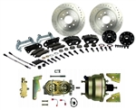 1967 - 1969 Brake Conversion Kit, Front Disc Power, Black Calipers, Signature Series