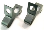 1969 Camaro Front Disc Brake Hose Strap Clips, Pair