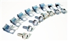 1967 - 1969 Camaro Disc Brake Conversion Clips and Bolts Set, For 2 Piece Front to Rear Brake Lines
