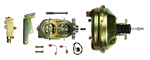 "1967 - 1969 Camaro 9"" Brake Booster, Master Cylinder, Proportioning Valve Kit, Front Disc / Rear Drum"