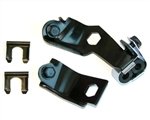 1969 Camaro Brake Hose Brackets Set, Front Disc Brake Hose to Hard Line Subframe Mounting
