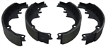 1967 - 1981 Camaro Rear Drum Brake Shoes / Pads Set