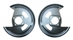 1967 - 1981 Camaro Rear Disc Brake Conversion Backing Plates, PAIR
