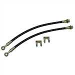 1967 - 1981 Camaro 10mm Rear Disc Brake Conversion Flex Hose, PAIR