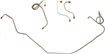 1971 - 1979 Camaro Front Power Disc Brake Lines Set
