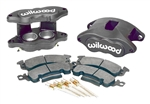 1969 - 1981 Camaro Type III Gray Anodized Wilwood Front Disc Brake D52 Calipers, Kit