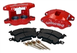 1969 - 1981 Camaro RED Powder Coated Wilwood Front Disc Brake D52 Calipers