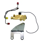 1971 - 1981 Camaro Proportioning Valve Kit for DISC / DRUM with Pro Valve, Switch with Lead, Mounting Bracket, and Lines
